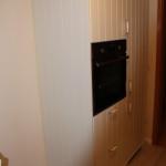 Einbaubackoffen neben EInbaukühlschrank